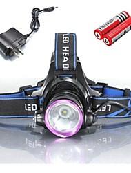 LS056 Pandelamper Cykellys Forlygte LED 2000 lm 3 Tilstand Cree XM-L T6 Nedslags Resistent Genopladelig Vandtæt for