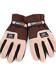 Недорогие -Лыжные перчатки Перчатки для велосипедистов Муж. Жен. Полный палец Сохраняет тепло Шерсть Катание на лыжах Велосипедный спорт / Велоспорт