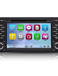 "7 ""2 din WindowsCE 6.0 carro dvd player para Audi A3 2003 ~ 2011 com bluetooth, canbus, gps, ipod, RDS, swc, wi-fi"