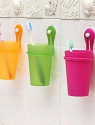 Недорогие -Стакан для зубных щеток Для душа Пластик Многофункциональный / Экологически чистый / Подарок
