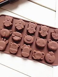 Moule de Cuisson Animal Pour Gâteau Pour Cupcake Pour Tarte Silikon Bricolage Ecologique Papier à cuire