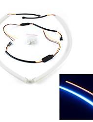 Недорогие -otolampara 1 пара верхние продажи 30cm 8w 180lm гибкая полоса drl белый цвет