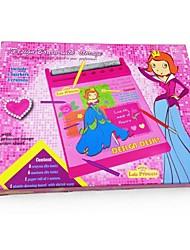 preiswerte -Kinder rosa Farbe schriftlich Reißbrett Spielzeug