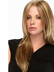cheap -Capless Blonde Long High Quality Natural Straight Synthetic Wigs