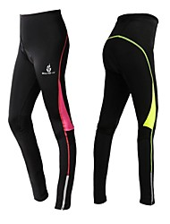 WOLFBIKE Cycling Pants Women's Bike Tights Padded Shorts/Chamois Breathable Quick Dry 3D Pad Spandex Polyester Silicon Patchwork