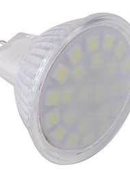 ywxlight® gu5.3 (mr16) faretto a led mr16 24 led smd 5050 bianco freddo 360lm 6000-6500k ac 220-240 v