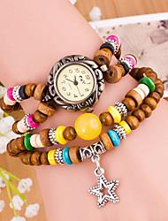 Недорогие -Wanbao женская мода звезды кулон браслет часы
