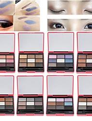 abordables -colores Herramientas de Maquillaje Polvo Maquillaje de Diario Diario Herramientas de Maquillaje
