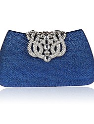 abordables -Femme Sacs Satin Sac de soirée pour Mariage Argent Peachblow Rouge Bleu Doré