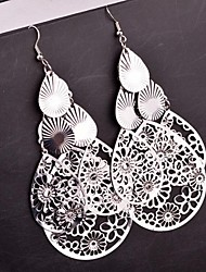 cheap -Women's Drop Earrings - Vintage Multi Layer Victorian Gold Silver Earrings For