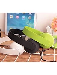 y502 stil over øret foldbar bas hovedtelefon med mikrofon til telefoner (assorteret farve)