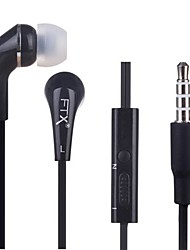 FTX-F605 3.5mm High Quality In Ear Earphone for Iphone and Other Phones