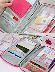 Travel Passport Credit ID Card Cash Holder  Wallet Purse Case Makeup Pencil PC Bag Wedding Return Gift(More Colors)