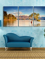 cheap -Landscape Three Panels Vertical Print Wall Decor Home Decoration
