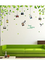 cheap -Photo Stickers - Plane Wall Stickers Landscape Living Room / Bedroom / Study Room / Office / Removable