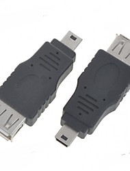 economico -mini usb minismile ™ on-the-go ospitare adattatore OTG (2-pack)