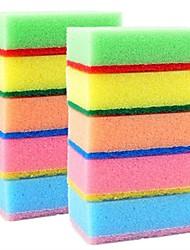 abordables -10 piezas esponja limpia, 9x6x3 cm esponja (3.5x2.4x1.2 pulgadas)