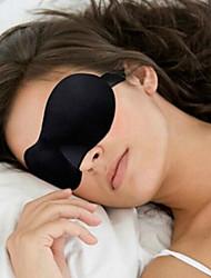 Недорогие -Маска для сна в путешествии Регулируется Компактность 3D Воздухопроницаемость Бесшовные 1 комплект Путешествия губка