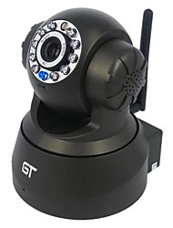 economico -vista gt pan tilt audio rilevazione di movimento di sorveglianza senza fili p2p coperta telecamera ip