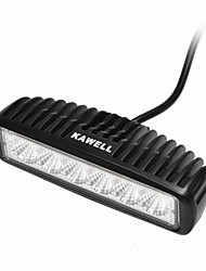 "cheap -KAWELL 18W 6.2"" LED for ATV/boat/suv/truck/car/atvs light Off Road Waterproof Led Work Flood Light Bar"