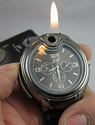 cheap -Men's Watch Cool 2-in-1 Quartz Watch + Butane Flame Lighter (Assorted Colors) Wrist Watch Cool Watch Unique Watch Fashion Watch