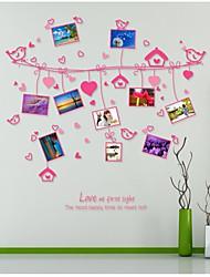 wall stickers Vægoverføringsbilleder, style kærlighed reb foto væg pvc wall stickers