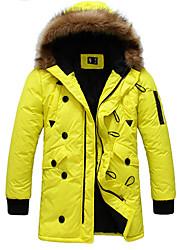 economico -Hoodie di modo casuale cotone imbottito vestiti termici degli uomini di Niki