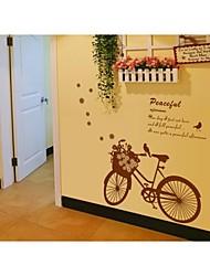 decalques de parede adesivos de parede, parede estilo ciclismo pvc adesivos
