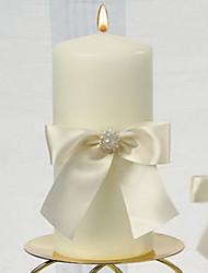 Недорогие -свеча выступает за штуку / набор свечей без персонализированной белой свадебной церемонии