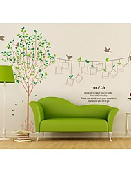 cheap -Wall Stickers Wall Decals, Style Tree 0f Life And Photos PVC Wall Stickers