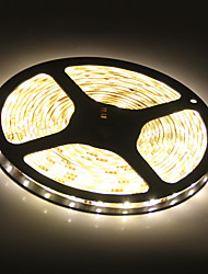 cheap -Waterproof 5M 45W 3900-4200LM 300x5050SMD Warm White Light LED Strip Lamp (DC 12V)