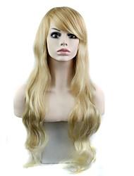 Donna Parrucche sintetiche Ondulato Parrucca per travestimenti