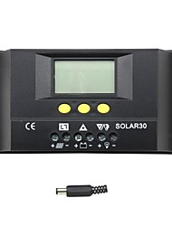 cheap -Y-SOLAR 30A LCD Solar Charge Controller SOLAR30 battery Charge Regulator