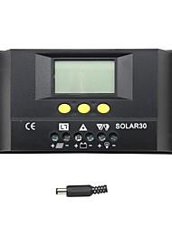 abordables -30a lcd controlador de carga solar regulador de carga de la batería solar30 y-solar