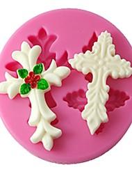 quattro c strumenti muffa arredamento silicone 3d torta fondente di colore rosa