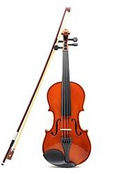 Недорогие -astonvila яркий Natrual цвета скрипка с белым ободком канифоли + скрипичным смычком + пены Boex