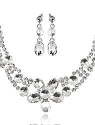 Недорогие -Жен. Прочее Комплект ювелирных изделий Серьги / Ожерелья - регулярное Назначение Свадьба / Для вечеринок / Особые случаи