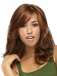 cheap -European and American Fashion New Long Hair Light Brown Hair Wig