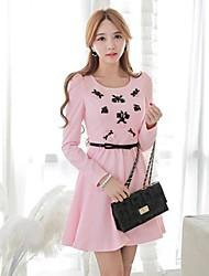 Pink Doll® Women's  Fashion Elegant Slim Dress
