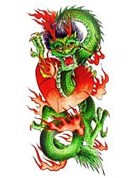 Tatuaggi adesivi - Serie animali Da donna/Adulto/Teen - 1 - Modello - di Carta - 18.5*8.5cm - Multicolore - Fantasia/Fascia lombare/Waterproof
