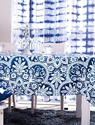 cheap -Polyester Rectangular Table Cloths