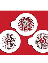 Недорогие -FOUR-C чашка торт трафарет конфеты и кофе инструменты украшения, кекс decorationtemplate формы ST-636