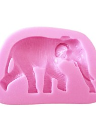 cheap -Cartoon Animal Silicone Mold For Cake Decorating Chocolate Soap Arts & Crafts