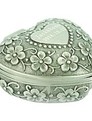 cheap -Jewelry Boxes Alloy Silver Wedding Party Elegant Feminine Style