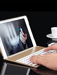 tanie -Folio klawiatury bluetooth aluminiowa walizka ochronna pokrywa z podświetlanym kolorowym światłem ipad powietrza 2 / iPad 6 przypadku