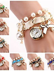 Women Hang Bow Bracelet Watch New Pearl Series Strap Watches(Assorted Colors) C&D-118 Cool Watches Unique Watches Fashion Watch