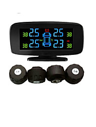Tyre Pressyre Monitoring System with 4 External Sensors,PSI/BAR,Diagnostic Tools, TPMS PSI,Car TPMS