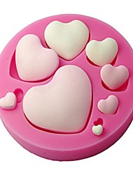 cheap -Fondant Heart Shape Silicone Mold,Craft Mold,Decorative Cake Mold