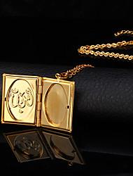 povoljno -Žene Kamen Pozlaćeni 18K Gold Ogrlice s privjeskom Ogrtači ogrlica - Kamen Pozlaćeni 18K Gold Moda Ogrlice Za Vjenčanje