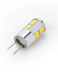 cheap -300-400 lm G4 LED Spotlight LED Bi-pin Lights 10 leds SMD 5730 Warm White Cold White DC 12V